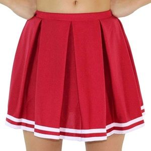 Dresses & Skirts - Red Cheerleader Skirt